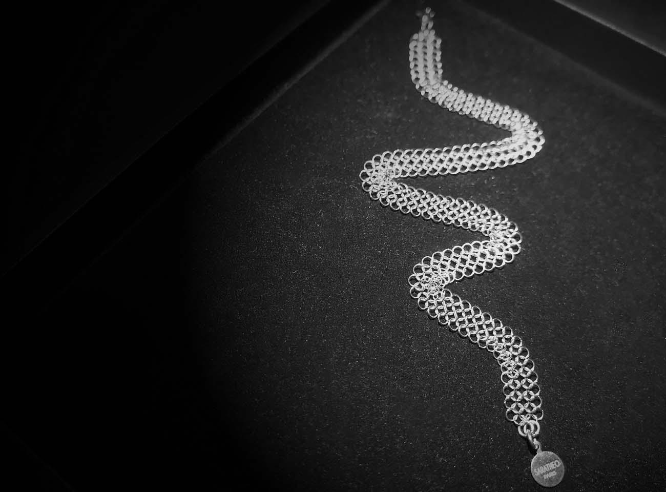 d Bracelet double lines FLAT, by Saratheo
